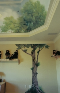 jessie's mural, tree country club of the south alpharetta, ga