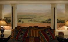 mural on canvas, 6x14' atlanta, ga